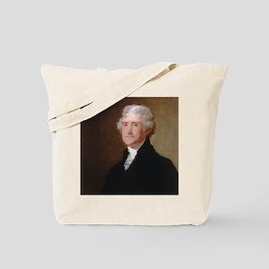 Gilbert Stuart - Thomas Jefferson Tote Bag