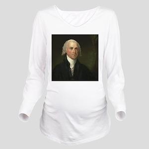Gilbert Stuart - Jam Long Sleeve Maternity T-Shirt