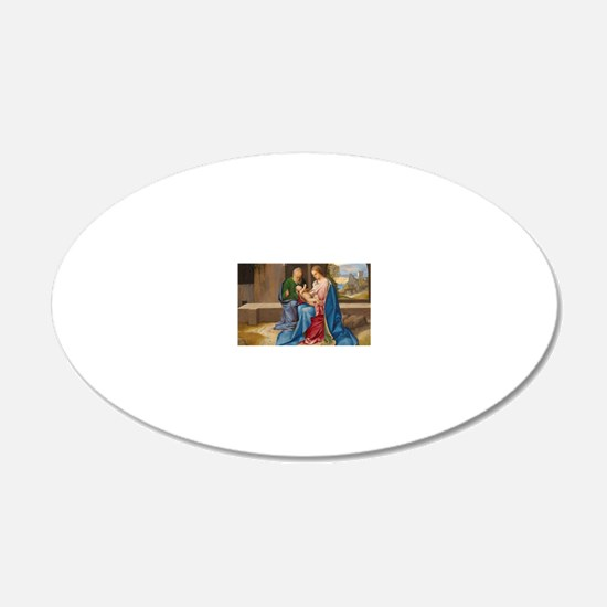 Giorgione - The Holy Family Wall Decal