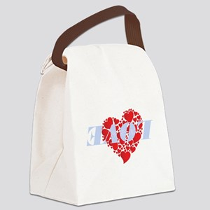 Love 180 Canvas Lunch Bag