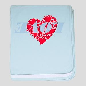 Love 180 baby blanket