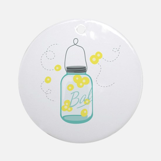LIGHTNING BUGS Ornament (Round)