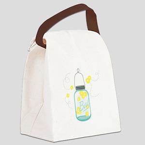 LIGHTNING BUGS Canvas Lunch Bag