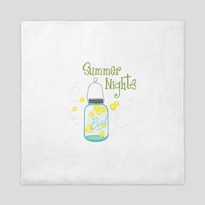 Summer Nights Queen Duvet