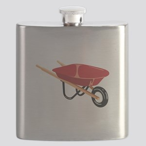 Red Wheelbarrow Flask
