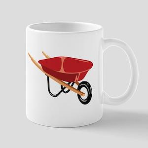 Red Wheelbarrow Mugs