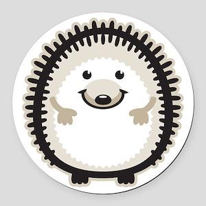 Hedgehog Round Car Magnet