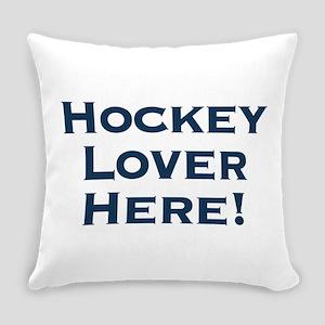 Hockey Lover Everyday Pillow