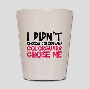 Colorguard Chose Me Shot Glass