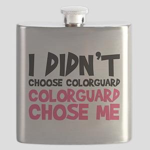Colorguard Chose Me Flask