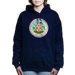 Medical Marijuana Women's Hooded Sweatshirt
