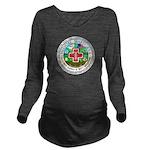 Medical Marijuana Long Sleeve Maternity T-Shirt