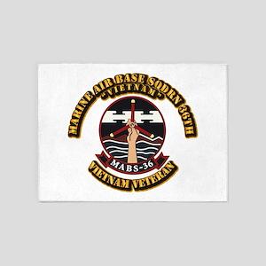 USMC - Marine Air Base Squadron - 36th 5'x7'Area R