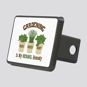 GARDENING IS MY HERBAL Remedy Hitch Cover