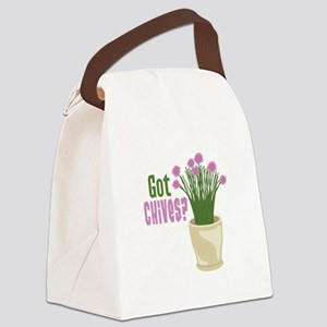Got Chives? Canvas Lunch Bag