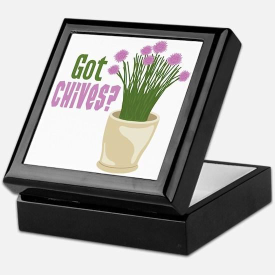 Got Chives? Keepsake Box