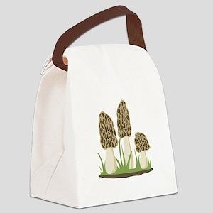 Morel Mushrooms Canvas Lunch Bag