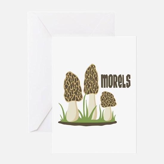 MORELS Greeting Cards
