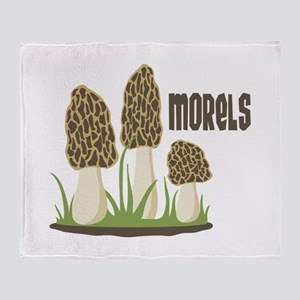 MORELS Throw Blanket