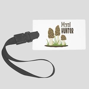 Morel Hunter Luggage Tag