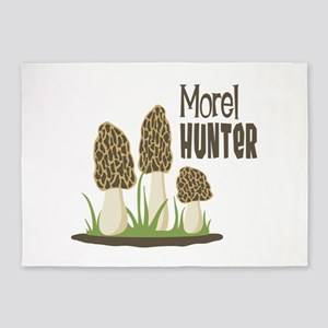 Morel Hunter 5'x7'Area Rug