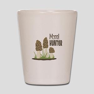 Morel Hunter Shot Glass