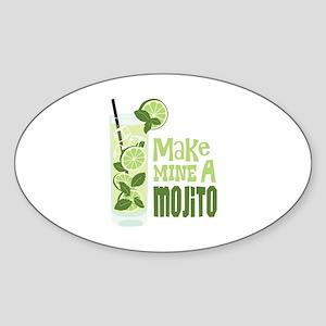 Make MINE A Mojito Sticker