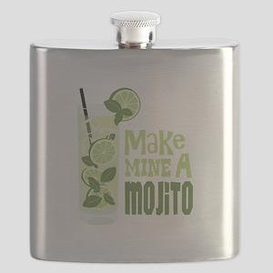 Make MINE A Mojito Flask