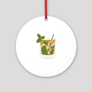 Mint Julep Ornament (Round)