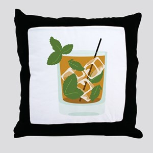 Mint Julep Throw Pillow