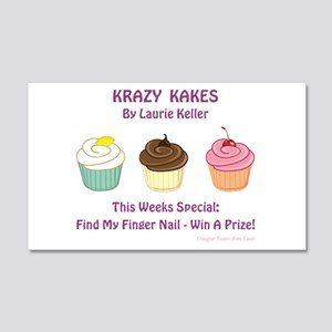 KRAZY KAKES Wall Decal