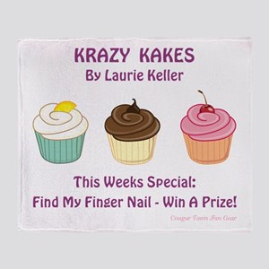 KRAZY KAKES Throw Blanket