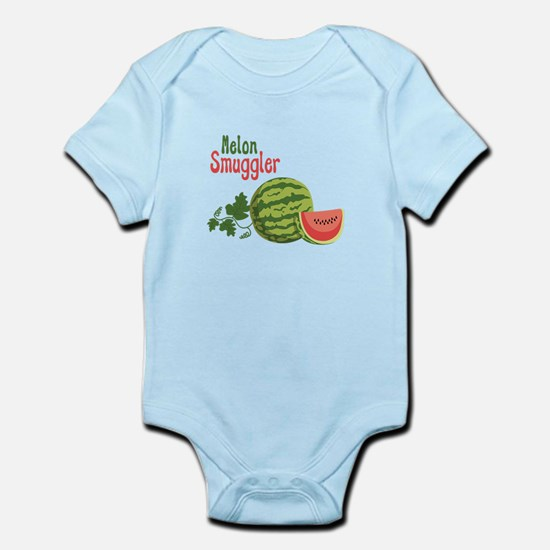 Melon Smuggler Body Suit