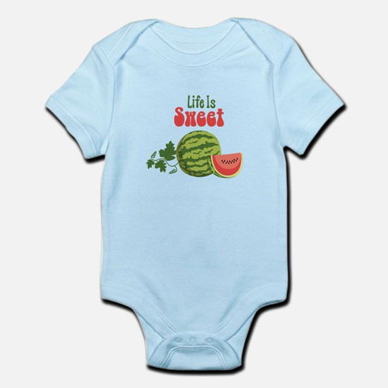 Life Is Sweet Body Suit