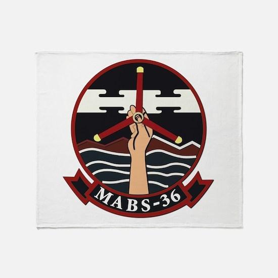 USMC - Marine Air Base Squadron - 36th Throw Blank