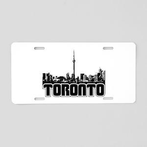 Toronto Skyline Aluminum License Plate