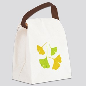 Ginkgo Leaves Art Nouveau Canvas Lunch Bag