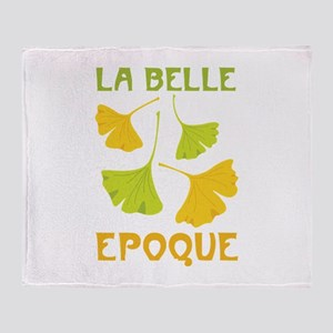 LA BELLE EPOQUE Throw Blanket