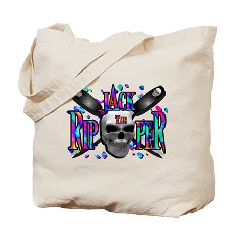 Jack the Ripper Rainbow Tote Bag