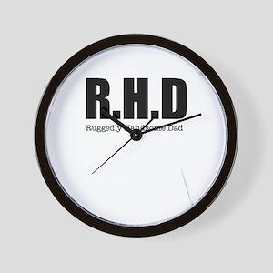 R H D Wall Clock