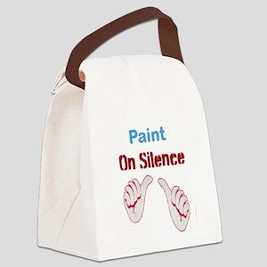 paint Canvas Lunch Bag