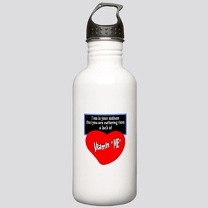 Vitamin Me/t-shirt Water Bottle