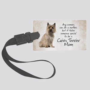 Cairn Terrier Mom Luggage Tag