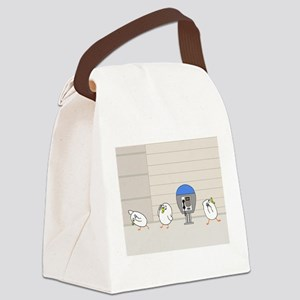 Everybody goes wireless! Canvas Lunch Bag