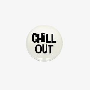 Chill Out Mini Button