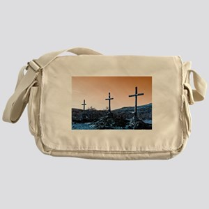 The Three Crosses Messenger Bag