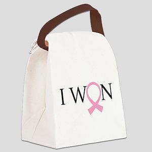 I Won Breast Cancer Canvas Lunch Bag