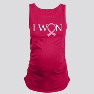 I Won Breast Cancer Maternity Tank Top
