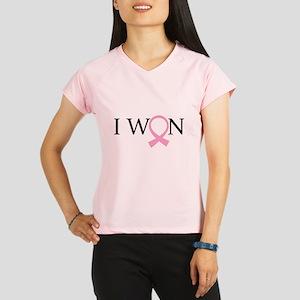 I Won Breast Cancer Performance Dry T-Shirt