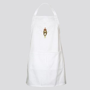 Sock Monkey Guardian Angel Wings Apron